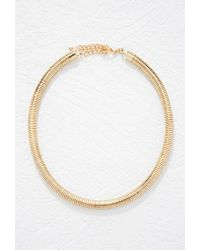 Forever 21 | Metallic Coil Necklace | Lyst