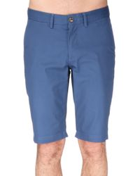 Ben Sherman - Blue Bermuda for Men - Lyst