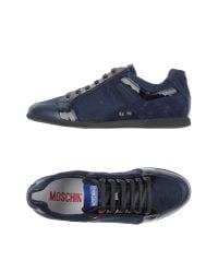 Moschino | Blue Low-tops & Trainers for Men | Lyst
