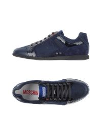 Moschino - Blue Low-tops & Trainers for Men - Lyst
