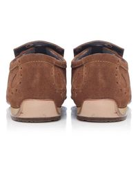 Jeffery West - Brown Suede Loafers for Men - Lyst