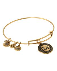 ALEX AND ANI | Metallic Kappa Delta Charm Bangle | Lyst