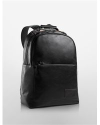 Calvin Klein - Black Jeans Minimal Backpack - Lyst
