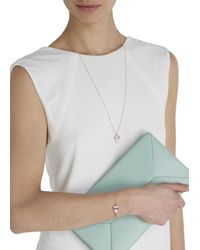 MFP MariaFrancescaPepe | Metallic 23kt Gold-plated Eye Necklace | Lyst