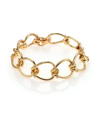 Giles & Brother - Metallic Small Cortina Loop Chain Bracelet - Lyst