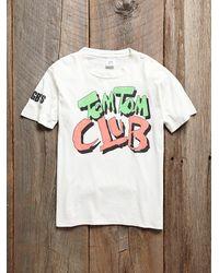 Free People - White Vintage Tom Tom Club Tee - Lyst
