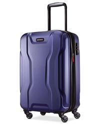 "Samsonite   Blue Spin Tech 2.0 21"" Carry-on Hardside Spinner Suitcase for Men   Lyst"