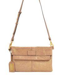 Badgley Mischka   Helene Metallic Handbag   Lyst