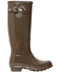 Hunter | Natural Original Tall Gloss Wellington Boots | Lyst