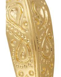 Aurelie Bidermann - Metallic Apache Gold-plated Ring - Lyst