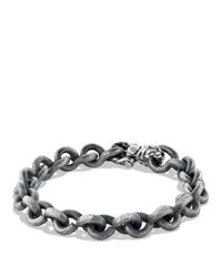 David Yurman | Black Petrvs Chain Bracelet for Men | Lyst
