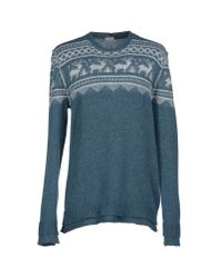 Paolo Pecora | Green Jumper for Men | Lyst