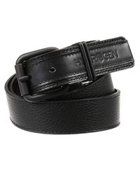 Hydrogen - Black Classic Belt Leather for Men - Lyst
