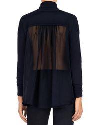 J Brand - Blue Clinton Sweater - Lyst