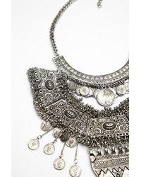 Free People - Metallic Goldbarr Womens Tulum Statement Collar - Lyst