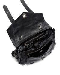 Proenza Schouler - Black Ps Courier Shoulder Bag - Lyst