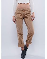 Free People | Brown Dickies Womens Wyatt Carpenter Pant | Lyst