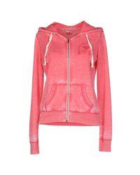 Clark Jeans - Pink Sweatshirt - Lyst
