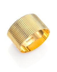 Elizabeth and James - Metallic Divi Pyramid Stud Cuff Bracelet - Lyst