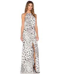 451caf135ba Lyst - Parker Ashford Combo Dress in Black