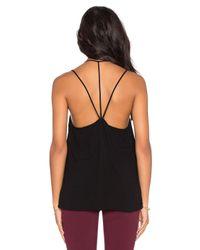 Bella Luxx - Black Geometric Y-back Cami - Lyst