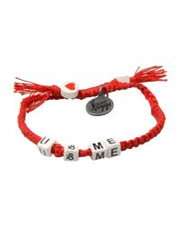 Venessa Arizaga - Red Bracelet - Lyst