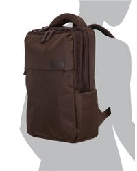 Lipault | Brown Tech Daypack for Men | Lyst