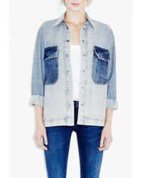 M.i.h Jeans - Blue Protest Jacket - Lyst