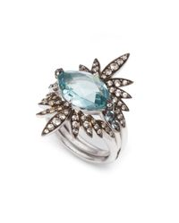 Alexis Bittar | Blue Sky Marquis Convertible Ring You Might Also Like | Lyst