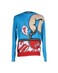 Moschino | Blue Jumper for Men | Lyst