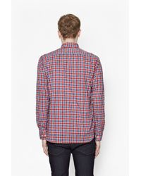 French Connection - Multicolor High Summer Check Shirt for Men - Lyst