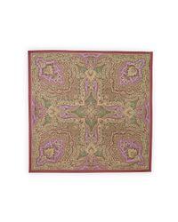 Ralph Lauren | Multicolor Sicily Silk Scarf | Lyst