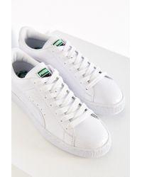 PUMA | White Patent Sneaker | Lyst