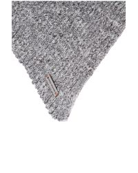 BOSS Orange - Gray Cotton Scarf: 'ariffons' for Men - Lyst