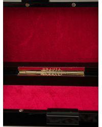 Urania Gazelli - Black 'virgo' Box Clutch - Lyst