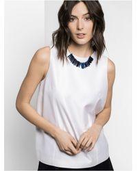 BaubleBar - Blue Bamm-Bamm Collar - Lyst