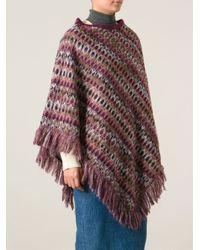 Missoni - Multicolor Long Zigzag Knit Cardigan - Lyst