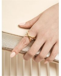BaubleBar | Metallic Matrix Ring | Lyst