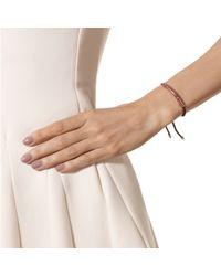 Monica Vinader - Black Esencia Scatter Friendship Bracelet - Lyst