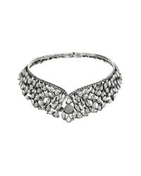 TOPSHOP - Metallic Sparkle Stone Prom Collar - Lyst