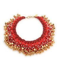 Etro | Multicolor Beaded Necklace | Lyst