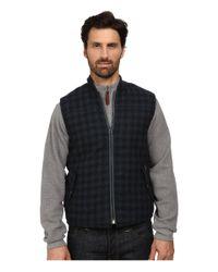 Woolrich | Blue Bear Claw Vest for Men | Lyst