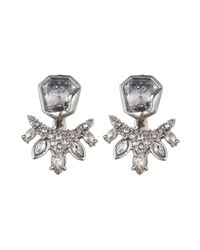 Alexis Bittar - Metallic Jagged Marquis Cluster Jacket Earring You Might Also Like - Lyst