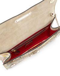 Christian Louboutin - Multicolor Riviera Patent Swirl Clutch Bag - Lyst