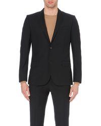 J.Lindeberg | Black Slim-fit Wool Jacket for Men | Lyst