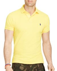 Ralph Lauren | Yellow Polo Classic-fit Mesh Polo Shirt for Men | Lyst
