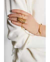 Maria Black - Metallic Trinity Gold-plated Ring - Lyst