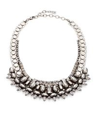 DANNIJO   Metallic Scott Crystal Collar Necklace   Lyst
