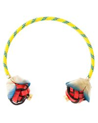 Marni | Yellow Flower Necklace | Lyst