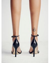 Free People | Black Square Intentions Heel | Lyst
